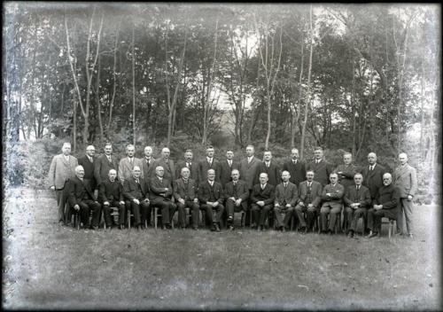 Kreisausschuss Kreis Wiedenbrück 1920er Jahre