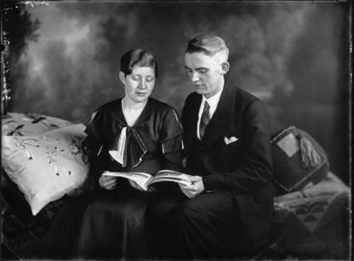 Paar Wiedenbrück 1920er Jahre