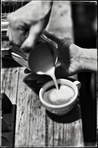 Kaffee mit dem Siebtraeger 5