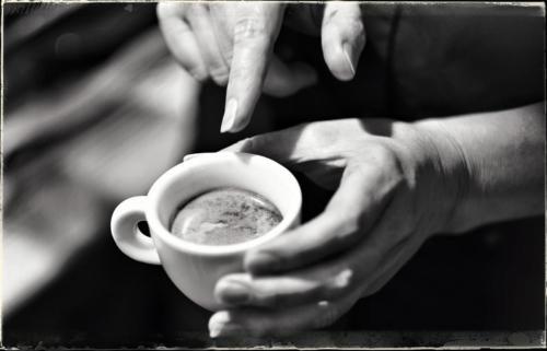 Kaffee mit dem Siebtraeger 7
