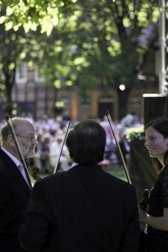 Musiker im Dialog